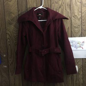 Burgundy Miss Sixty coat jacket